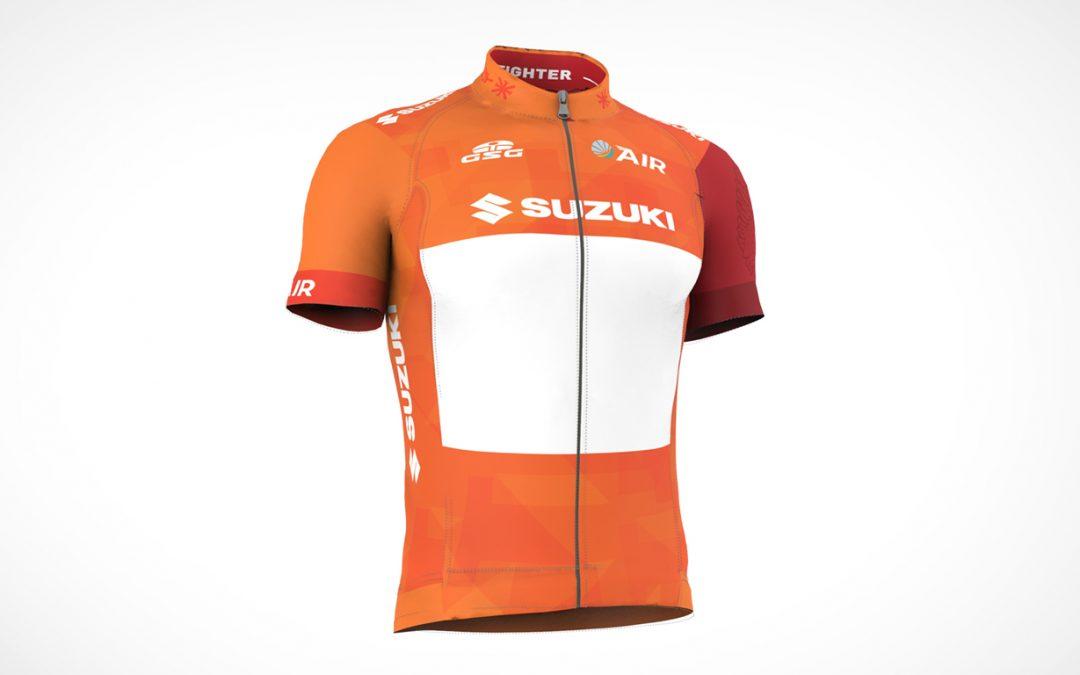 Suzuki nuovo sponsor della maglia arancione